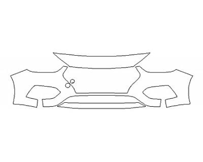 2020 HYUNDAI ACCENT SE Bumper (3 Piece)