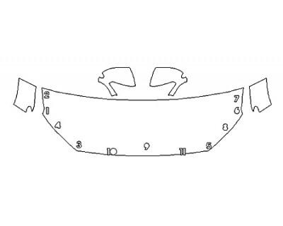 2020 HYUNDAI KONA ULTIMATE Hood(24 Inch) Fenders Mirrors