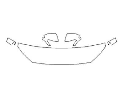 2020 HYUNDAI KONA ULTIMATE Hood(18 Inch) Fenders Mirrors