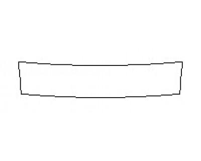 2018 INFINITI Q60 2.0T PURE Rear Bumper Deck
