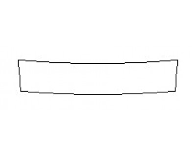 2020 INFINITI Q60 3.0T LUXE Rear Bumper Deck