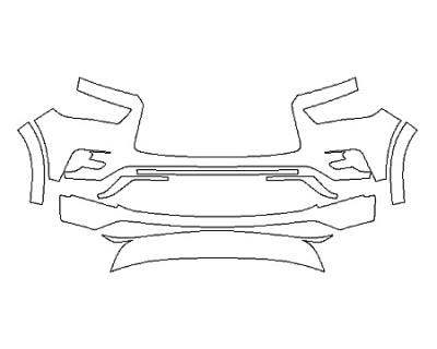 2018 INFINITI QX80 BASE Bumper