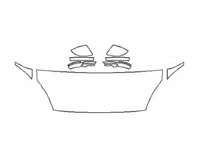 2018 JAGUAR E-PACE BASE Hood(24 Inch) Fenders Mirrors