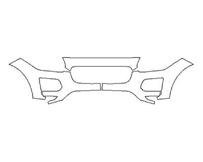 2020 JAGUAR E-PACE BASE Bumper (3 Piece)
