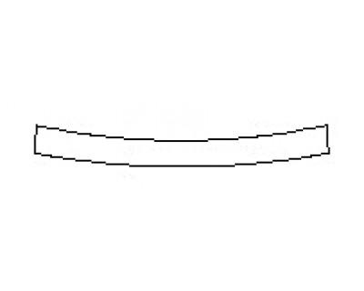 2020 JAGUAR E-PACE BASE Rear Bumper Deck