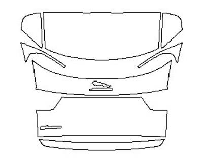 2020 JAGUAR E-PACE BASE Full Rear Hatch