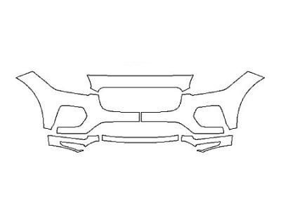 2020 JAGUAR E-PACE R-DYNAMIC HSE Bumper(6 Piece)
