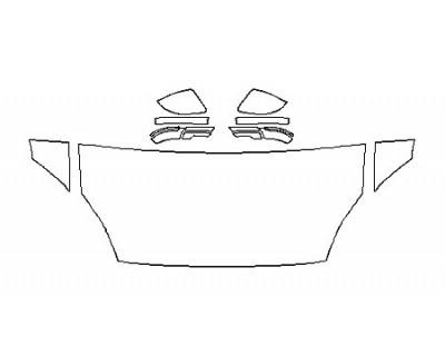 2018 JAGUAR E-PACE R-DYNAMIC S Hood(30 Inch) Fenders Mirrors