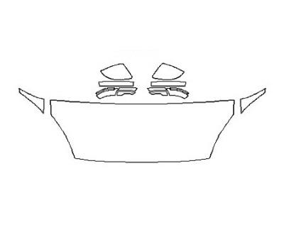 2018 JAGUAR E-PACE R-DYNAMIC S Hood(24 Inch) Fenders Mirrors