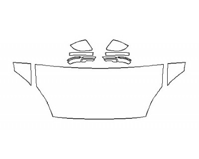 2018 JAGUAR E-PACE R-DYNAMIC SE Hood(30 Inch) Fenders Mirrors