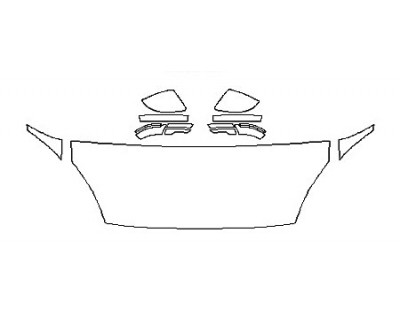 2020 JAGUAR E-PACE R-DYNAMIC SE Hood(24 Inch) Fenders Mirrors