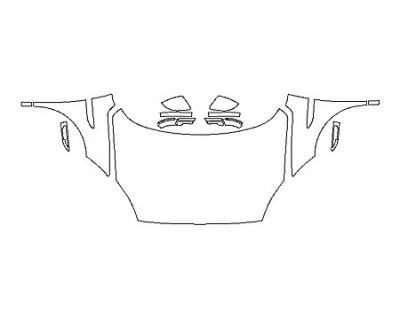 2020 JAGUAR E-PACE S Full Hood Fenders Mirrors