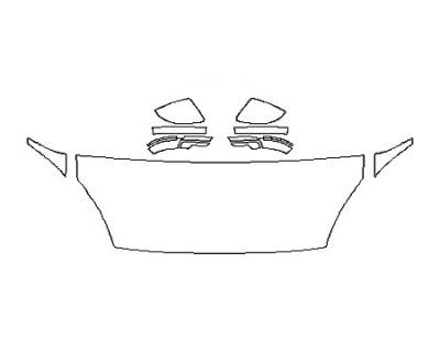 2020 JAGUAR E-PACE S Hood(24 Inch) Fenders Mirrors