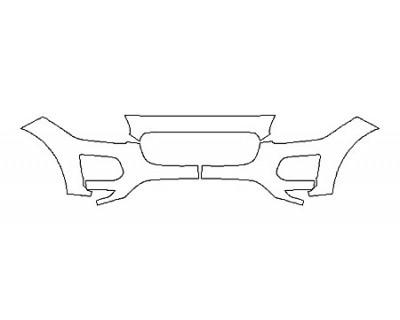 2020 JAGUAR E-PACE S Bumper(3 Piece)