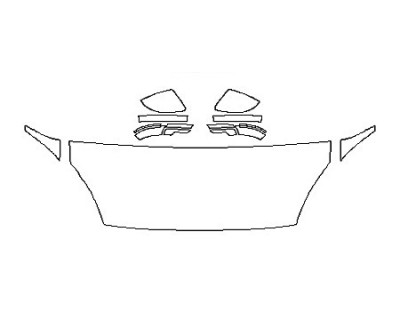 2018 JAGUAR E-PACE SE Hood(24 Inch) Fenders Mirrors