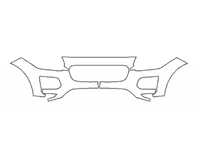 2020 JAGUAR E-PACE SE Bumper(3 Piece)