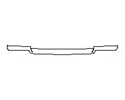 2018 LAND ROVER RANGE ROVER SPORT HSE Rear Bumper Deck