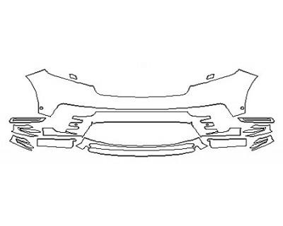 2018 LAND ROVER RANGE ROVER VELAR R-DYNAMIC Bumper With Sensors