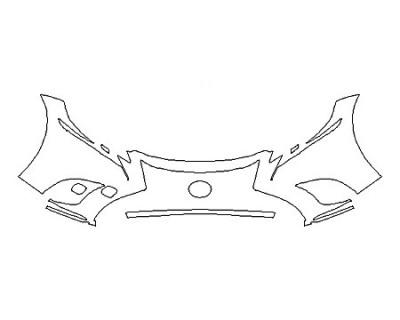 2018 LEXUS LS 500 BASE Bumper (2 Piece)