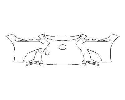 2018 LEXUS LS 500 BASE Bumper (4 Piece)
