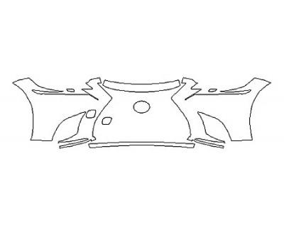 2018 LEXUS LS 500H Bumper (4 Piece)