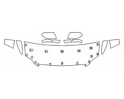 2018 LINCOLN NAVIGATOR RESERVE Hood (24 Inch) Fenders Mirrors