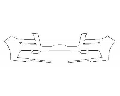 2020 LINCOLN NAVIGATOR SELECT Bumper
