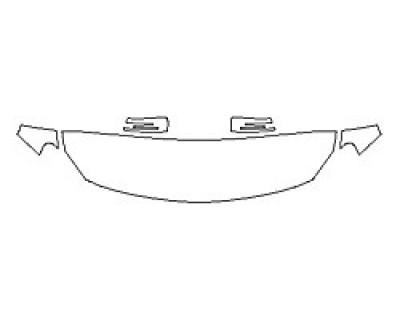 2018 MERCEDES GLA-CLASS SUV GLA45 AMG Hood (18 Inch) Fenders Mirrors