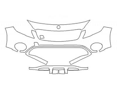 2018 MERCEDES GLA-CLASS SUV GLA250 4MATIC BASE Bumper