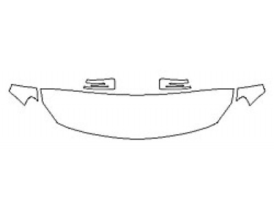 2018 MERCEDES GLA-CLASS SUV GLA250 4MATIC SPORT Hood (18 Inch) Fenders Mirrors