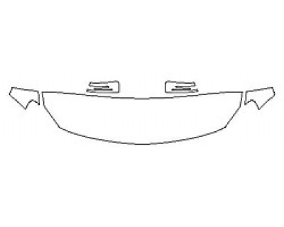 2018 MERCEDES GLA-CLASS SUV GLA250 SPORT Hood (18 Inch) Fenders Mirrors