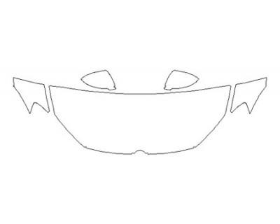2020 VOLKSWAGEN GOLF GTI Hood(24 Inch Wrapped Edges) Fenders Mirrors