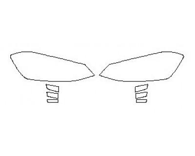 2020 VOLKSWAGEN GOLF GTI Headlights Fog Lights