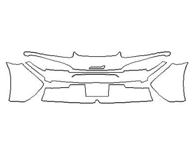 2018 MCLAREN 570S Full Rear Bumper