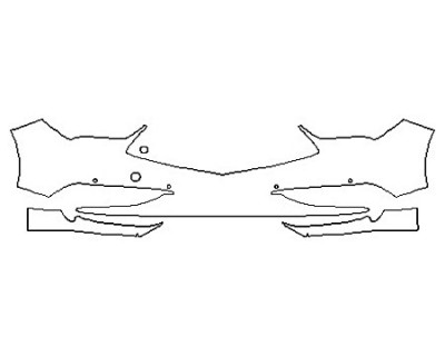 2019 ACURA TLX A-SPEC Rear Bumper Deck