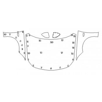 2019 BUICK REGAL SPORTBACK ESSENCE Full Hood Fenders Mirrors