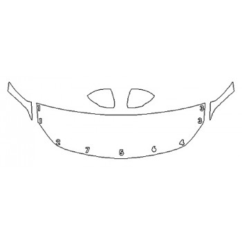 2019 BUICK REGAL SPORTBACK ESSENCE Hood(24 Inch) Fenders Mirrors