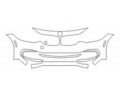 2019 BMW 4 SERIES 430I COUPE LUXURY DESIGN Bumper