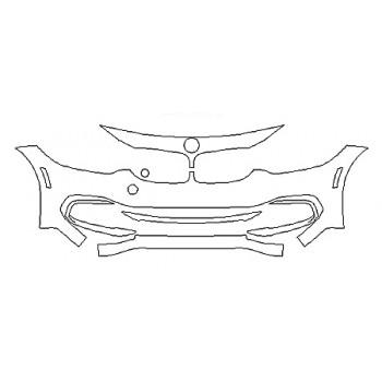 2019 BMW 4 SERIES 440I GRAN COUPE LUXURY DESIGN Bumper