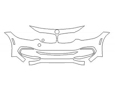2019 BMW 4 SERIES 440I XDRIVE COUPE SPORT LINE Bumper