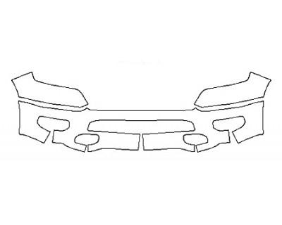 2020 DODGE RAM 1500 BIG HORN Bumper