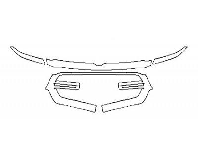 2020 DODGE RAM 1500 BIG HORN Grille