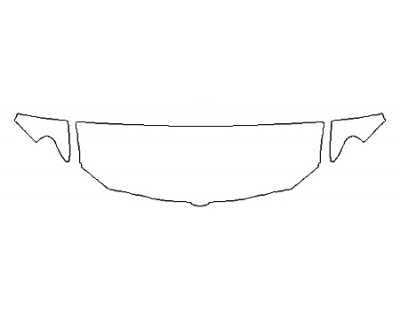 2020 DODGE RAM 1500 LONE STAR Hood(24 Inch Wrapped Edges) Fenders