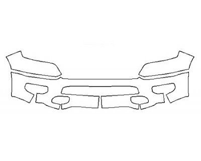 2020 DODGE RAM 1500 TRADESMAN Bumper