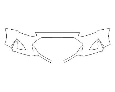 2020 HYUNDAI VELOSTER TURBO BASE Bumper (1 Piece)