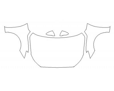 2020 HYUNDAI VELOSTER TURBO R-SPEC Full Hood(Wrapped Edges) Fenders Mirrors