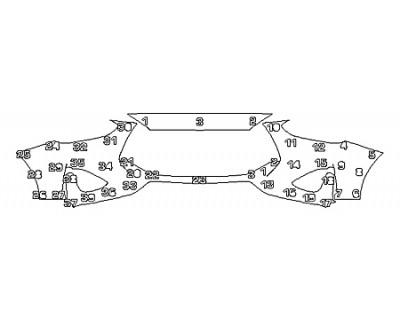 2019 HYUNDAI VELOSTER TURBO R-SPEC Bumper (2 Piece)