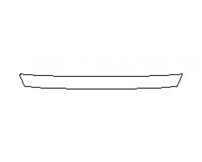 2020 TOYOTA AVALON HYBRID XLE Real Bumper Deck