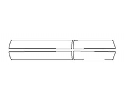 2020 TOYOTA AVALON HYBRID XLE Doors