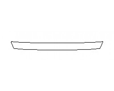 2020 TOYOTA AVALON LIMITED Real Bumper Deck